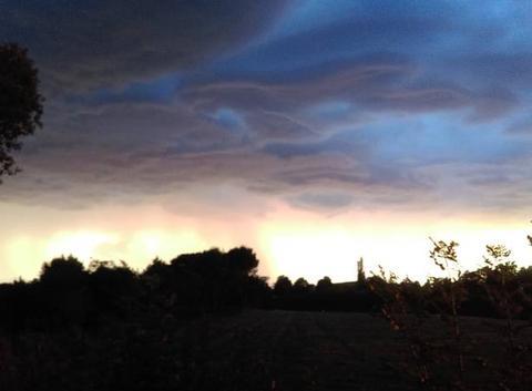 Un bel orage s'annonce !