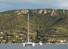 Mer Belvedere-Campomoro 20110 Vue du voilier
