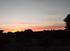 Lever de soleil sur Tr�gunc