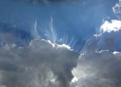 Ciel!! Des nuages
