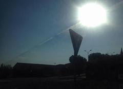 Voie aérienne vers le soleil
