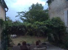 Orage Villandraut 33730 VILLANDRAUT sous l'orage