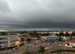 Arriv�e des orages