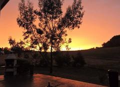 Coucher de soleil apr�s orage