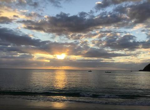 Coucher de soleil Fidji
