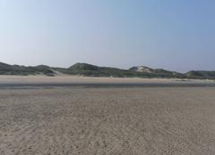Plage de Dunkerque-Leffrinckoucke - ce matin - chaleur.