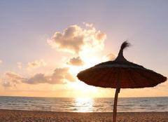 Ciel Djerba Lever de Soleil sur la plage de Sidi Yati