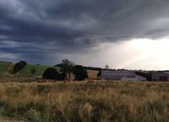 Nuages d'orages