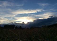 Ciel nuageux de WITT...