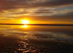 Mer Gruissan 11430 Lever de soleil
