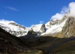 Premières neiges Vallée d'Aure