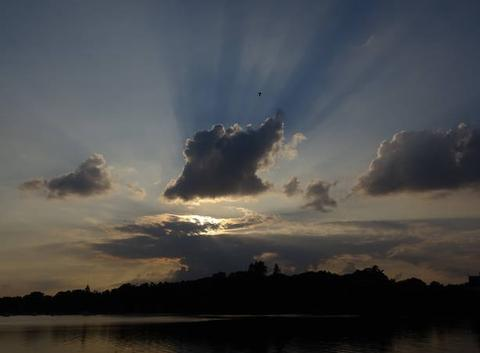 Coucher de soleil du 20 septembre