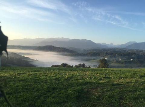 REBENACQ sous la brume