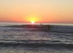 Mer Carcans 33121 Coucher de soleil