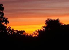 Lever de soleil sur Pluguffan