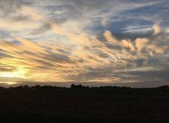 Petite peinture de nuages