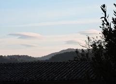 Bizarreries nuageuses dans le Cantal