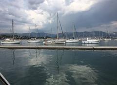 Toulon vu de st Mandrier