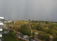 L orage de retour