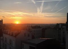 Lev� de soleil sur Nogent