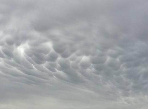 Jolis mammatus dans le ciel du Vexin