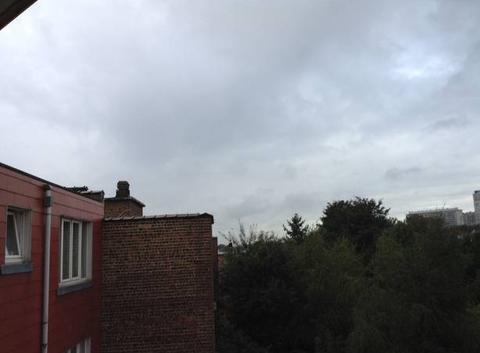 Bruxelles sous la grisaille