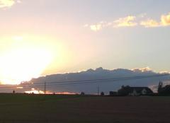 Ciel de fin après midi