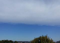 Une belle ligne de nuage