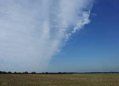 Nuages Argentan 61200 Une belle ligne de nuage