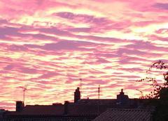 Ciel de feu � La Rochelle