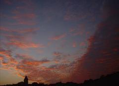 Ciel Le Vigeant 86150 Ce matin au lever