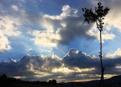 Entre soleil et nuages