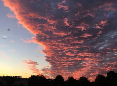 Frontière dans le ciel