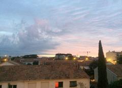 Lever du jour sur Montpellier