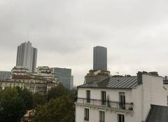 Ciel nuageux gris