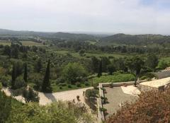 Vall�e des baux de provence