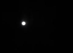 Ciel d�gag� avec lumi�re lunaire