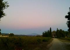 Lever de pleine lune sur le Ventoux
