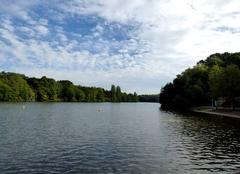 Ciel Celles-sur-Belle 79370 Lac et nuages