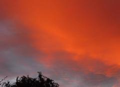 Merckeghem - le 16 ctobre - coucher de soleil