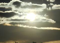 Coucher   de   soleil.....ce    matin    fraicheur.... à  saint julien de peyrolas....