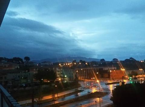 L orage � proche � Marseille 13013