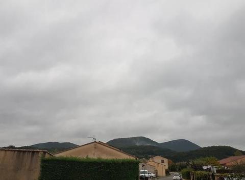 Pluie dans le Gard