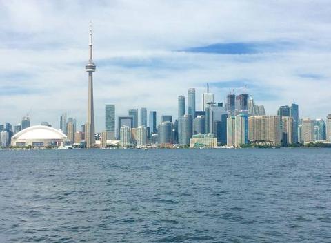 Toronto vue des îles