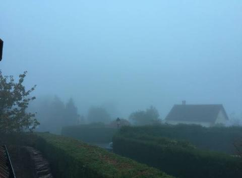 Brouillard dense dans le Vexin