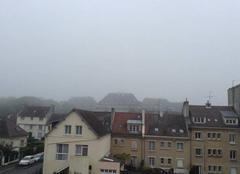 Brume à Caen