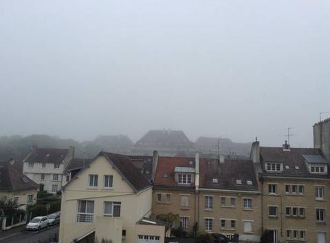 Brume � Caen
