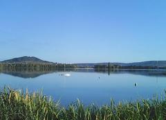 Ciel ,lac et reflet