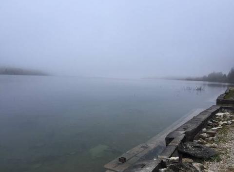 Lac st point l'automne