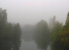 Du brouillard est Alsace.